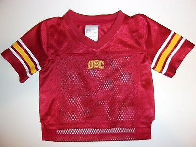 9774a1e7206 New USC Trojans Southern California Cal baby boy's 12M football jersey 12  month
