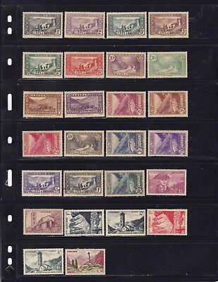 Andorra French Administration Mint Stamps 1930's-1940's MLH/MH