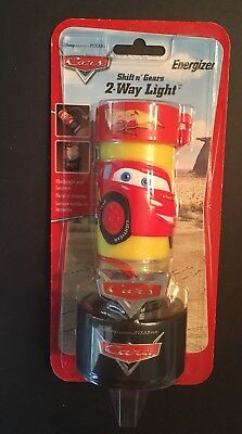 Disney Pixar Cars Energizer Shift n' Gears 2-Way Light Kids Flashlight Lantern