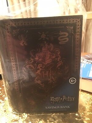 """Paladone Harry Potter's Hogwarts Library Book. Not Really"""" It Potters Money Box"""""""