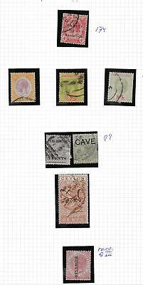 British Colonies stamps Collection of 8 CLASSIC stamps HIGH VALUE!