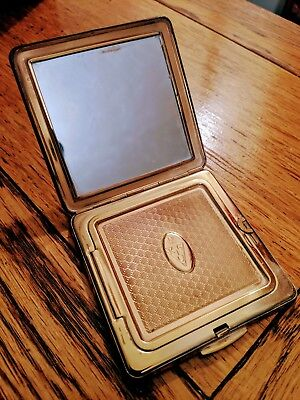 Vintage Kigu Makeup Compact With Pouch