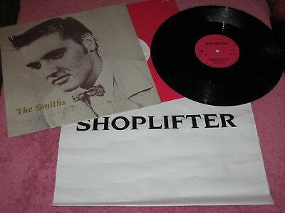 "The Smiths Shoplifters Of The World Unite UK 12"" (RTT 195) promo carrier bag EX+"