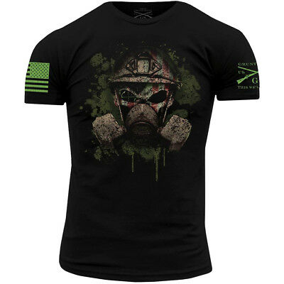Grunt Style Chemical Reaper 2.0 Crewneck T-Shirt - Black