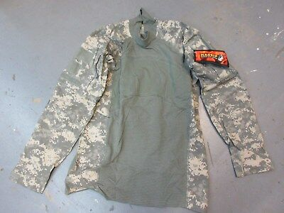 Us Army Acu Camo Combat Shirt Size Xl X-Large Massif New