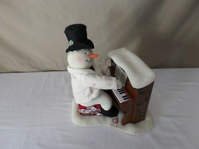 Hallmark 2005 Singing Animated  Musical Snowman  Piano Jingle Pals Christmas