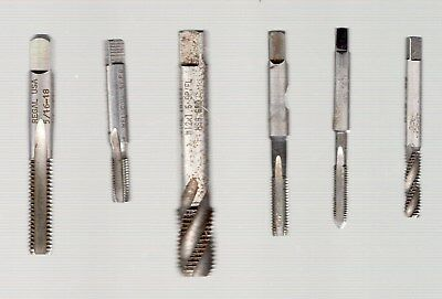 Helicoil thread taps x 6 assorted - job lot