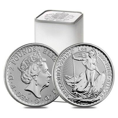 1oz Silver Britannia 2019 Coin Brand New Mint - No CGT!