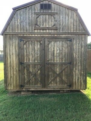 10 X 30 Lofted Barn great for workshop or tiny house shell!