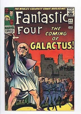 Fantastic Four #48 Vol 1 Very High Grade 1st App Silver Surfer and Galactus