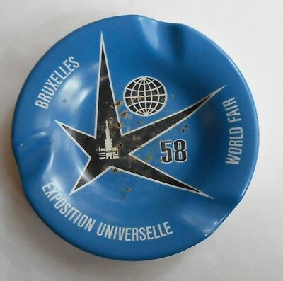 1958 Brussels World Fair Ashtray. Rare. No Reserve.