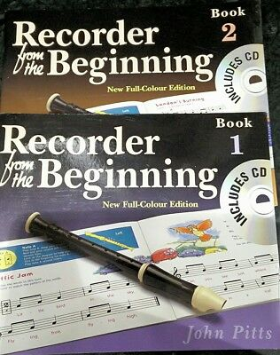 Recorder from the Beginning: Pupils Edition Books 1 and 2 with CD's