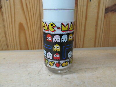 Vintage Drinking Glass 1980 Bally Speedy Pinky Pac-Man