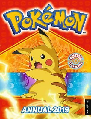 The Official Pokemon Annual 2019 (Annuals 2019), UK, Egmont Publishing, New