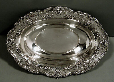 Graff Washbourne Dunn Sterling Bowl      c1910 HAND DECORATED  -  DEMONS