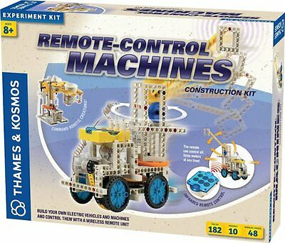 Thames & Kosmos REMOTE CONTROL MACHINES Construction KIT Assemble 10 Models