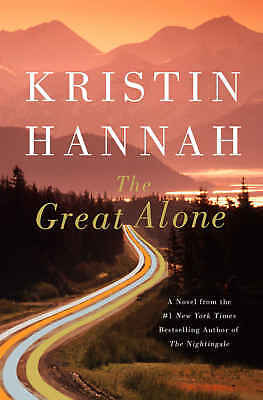 The Great Alone by Kristin Hannah NEW 2018,Fast Delivery