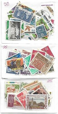 Lot # 395   Worldwide 100 Stamps  -Mint And Used ,