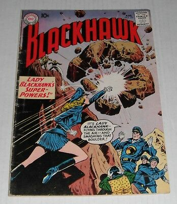 Blackhawk 151...VG-Fine  5.0 grade--H...Lady Blackhawk cover..1960 comic book