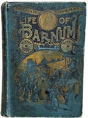 P. T. BARNUM The Greatest Showman & BAILEY CIRCUS ringling bros CARNIVAL Antique
