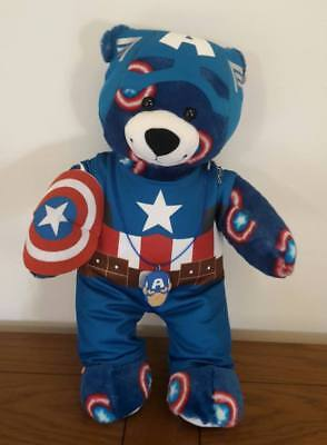 Build A Bear Super and Marvel Hero Bears with Accessories Genuine CHOOSE ONE