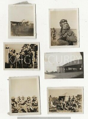 6 Original Wwii Japanese Photos: Army Air Force!!!
