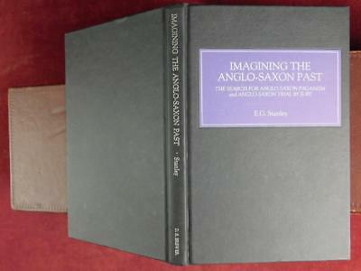 IMAGINING ANGLO-SAXON PAST: PAGANISM & JURY TRIAL by STANLEY/ENGLAND/RARE SIGNED