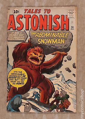 Tales to Astonish (1st Series) #24 1961 GD 2.0