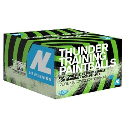 New Legion Thunder Paintballs