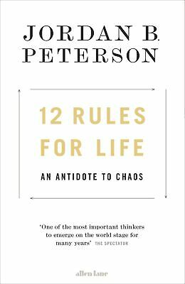 12 Rules for Life - An Antidote to Chaos by Jordan B. Peterson 2018 Fast Deliver