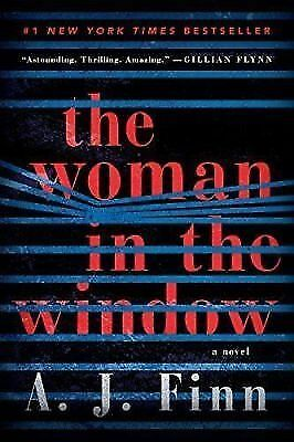 The Woman in the Window: A Novel by A. J. Finn (NEW 2018 Fast Delivery)