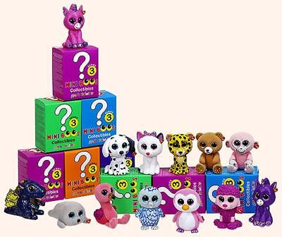 Ty Mini Boos Series 3 Mini Figures  Sealed Blind Boxes Hand Painted Toys