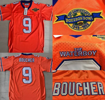 Men s New The Waterboy Bobby Boucher  9 Game Limited Jersey ALL SIZE 2018  Gift🔥 931302fa4