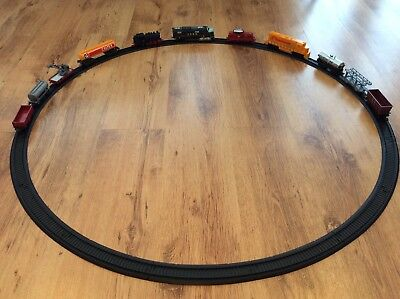Model Train Job Lot 11 X Rolling Stock + 16 Pieces Circular Track  VGC