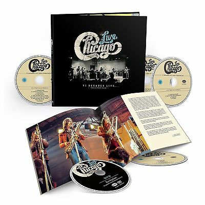 CHICAGO VI Decades Live: This is What We Do SEALED 4CD/DVD