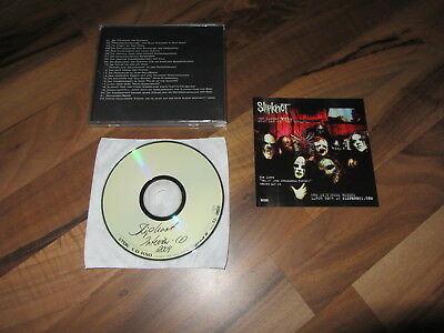 SLIPKNOT Vol 3 The Subliminal Verses Interview CD RARE 2004 GERMANY promo CD EP