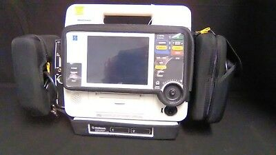 Lifepak 12 with A/C Adaptor CO2 NIBP SPO2 FULL 12 LEAD AED