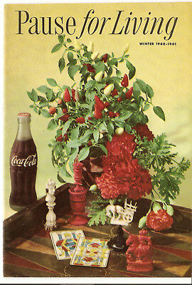 Pause For Living, Winter 1960-1961, Vol. 7  No. 2, Coca-Cola Booklet, Home (324)