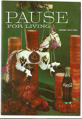 Pause For Living, Winter 1963-1964, Vol. 10  No. 2 Coca-Cola Booklet, Home (323)