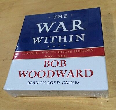 Audiobook Audio Book 5 x CDs The War Within Bob Woodward