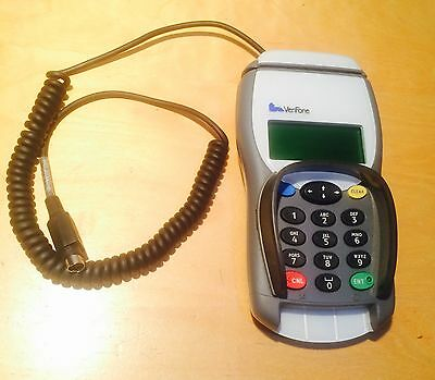 Card Scanne Rverifone Xlpp983  And Reader Pin And Chip Card Payment Business Saf