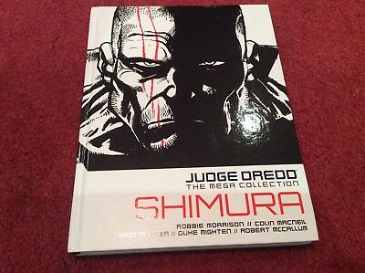 2000 AD Judge Dredd The mega collection vol 61 Shimura Robbie Morrison