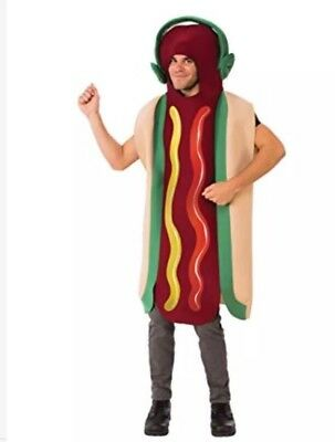 Rubies Dancing Hot Dog Costume Adult One Size