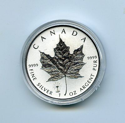 2018 $5 Canada Silver Maple Leaf Edison Light Bulb Privy Rev Proof In A Capsule