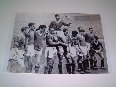 Rangers FC 1962 Scottish Cup Final Eric Caldow Jim Baxter and team photo