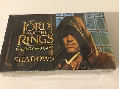 Lord of the Rings Trading Card Game Shadows Booster Box Unopened