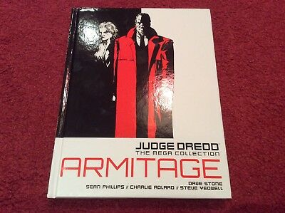 2000 AD Judge Dredd The mega collection vol 62 Armitage Sean Phillips Dave Stone
