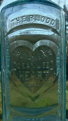 Dr. Kilmer's HEART REMEDY, Embossed heart.