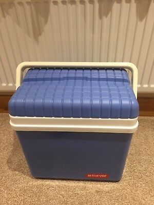 Cool Box by Curver, blue with handle
