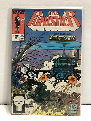 The Punisher Guest Starring The Shadowmasters #24 Vol 1 (1989 Marvel) VF+ UNREAD
